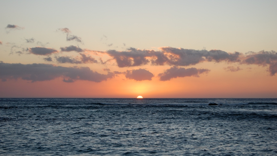 Sunset in Kona, HI
