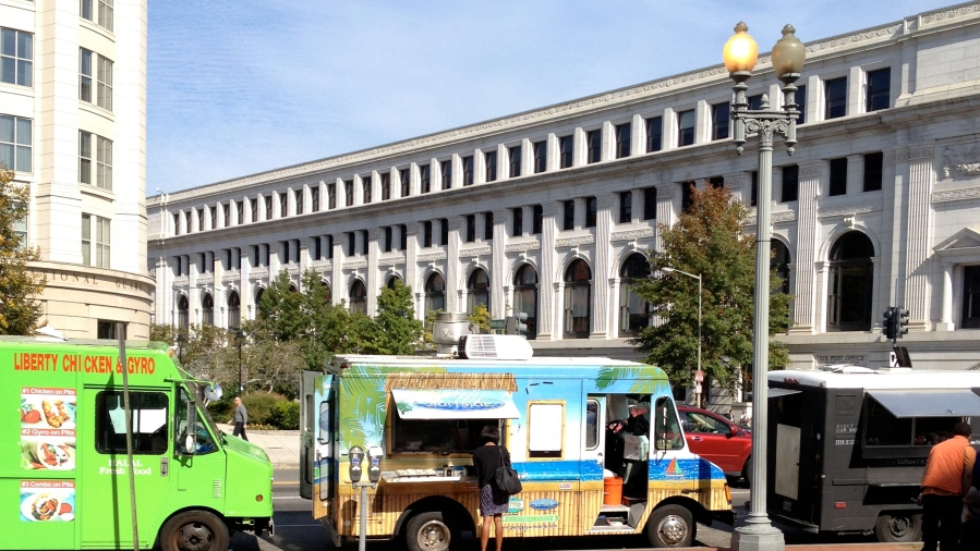 DC food trucks got some business...