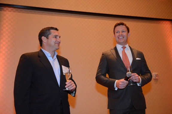 Toasting to 20 years with KBW's CEO