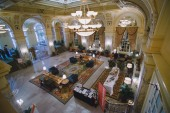 The lobby - during a rate quiet moment