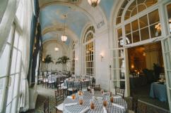 The Veranda - set for lunch