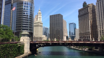A sunny day in Chicago