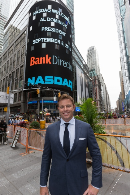 Well, my name is in lights / © 2014, The NASDAQ OMX Group, Inc.