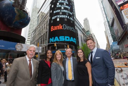 Most of our senior team / © 2014, The NASDAQ OMX Group, Inc.