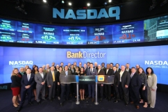 An awesome turnout by the tech community / © 2014, The NASDAQ OMX Group, Inc.