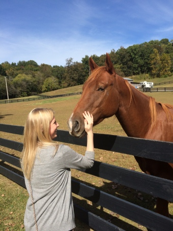 Kaitlyn, the horse whisperer