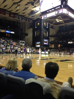 Taking in a Vandy game #SEC