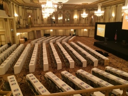 Pre-Bank Audit & Risk Committees conference (one of my favorite pre-event pix)