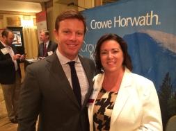 Catching up w/ one of my favorite social media friends, Crowe's Jennifer Burke