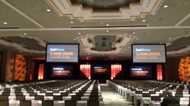 A look into the general session room