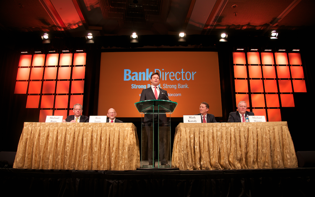 From Bank Director's 2015 Acquire or Be Acquired Conference: A 45 Second Video Recap of Day Two