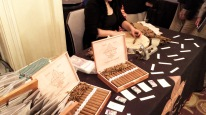 Hand-rolled cigars at the Ritz