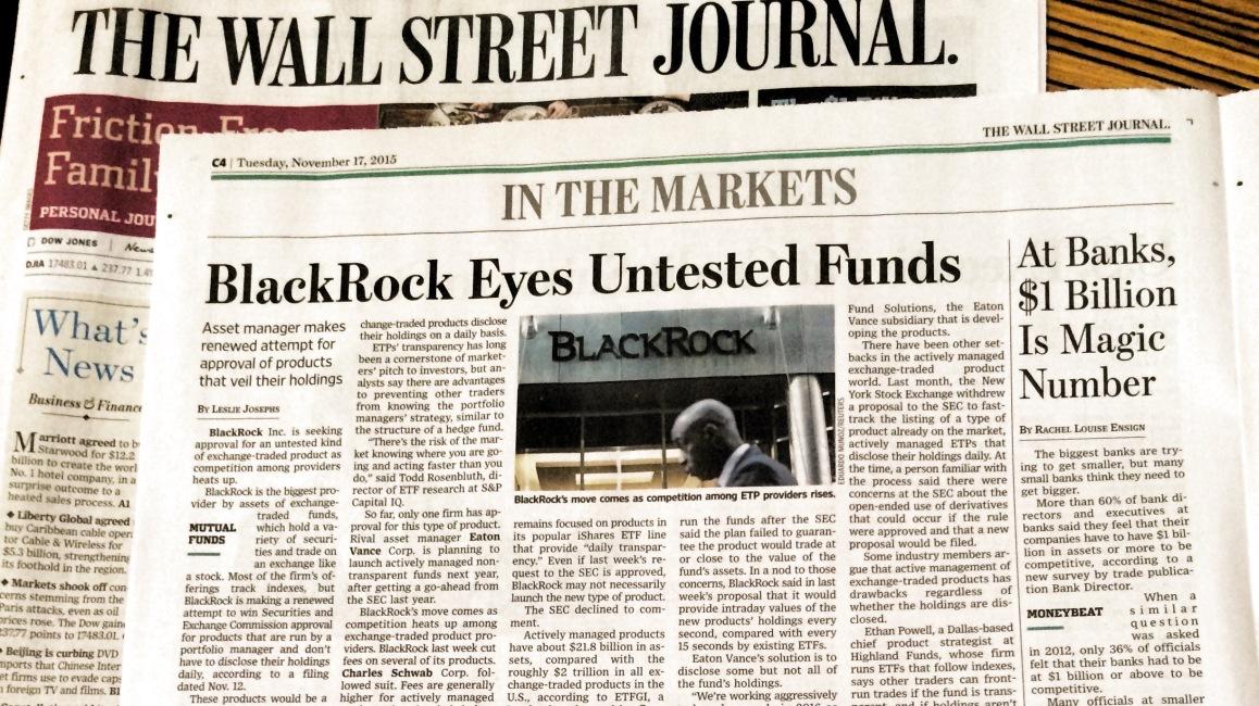 Wall Street Journal article