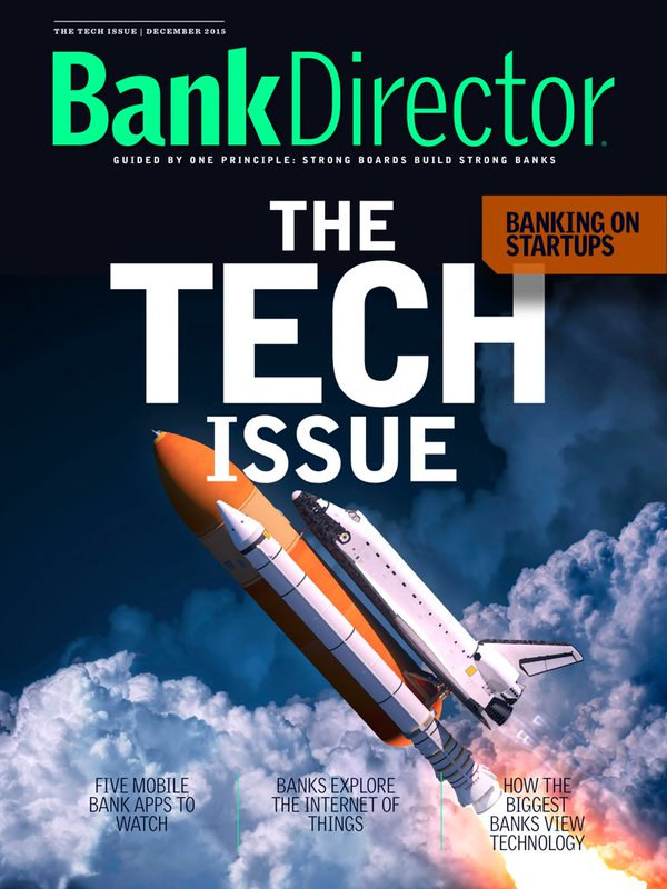 Bank Director's annual Tech Issue is now available for free