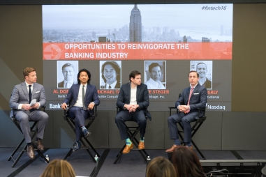 Moderating a discussion on the value of colorful socks vs creative pocket squares