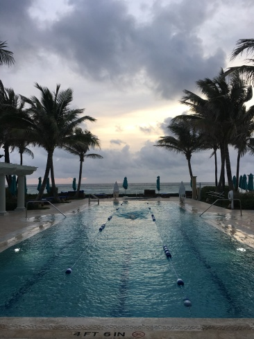 Someone's getting their laps in at the Breakers before our Chairman/CEO Peer Exchange (any guesses?)