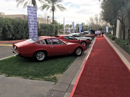 The classic car auction at the Arizona Biltmore was a nice touch for this year's AOBA