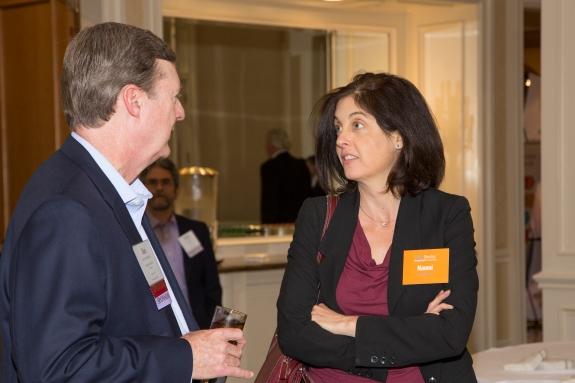 Bank Director magazine's editor, Naomi Snyder