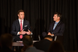 Talking the future of bank branches with fellow college baseball player, Brian Read, Executive Vice President, Retail Banking, Umpqua Holdings Corp. and Umpqua Bank